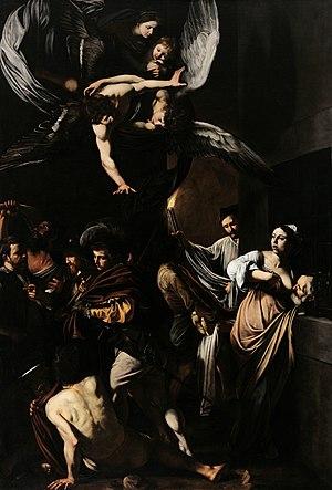 The Seven Works of Mercy (Caravaggio) - Image: Caravaggio Sette opere di Misericordia