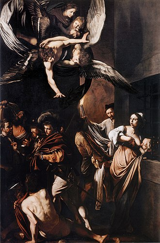 The Seven Works of Mercy (Caravaggio) - Image: Caravaggio Sette opere di Misericordia