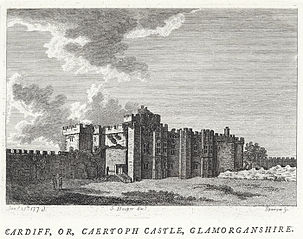 Cardiff, or, Caertoph castle, Glamorganshire