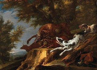 Carl Borromäus Andreas Ruthart German painter (1630-1703)