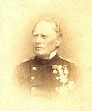 Battle of Jasmund (1864) - Rear Admiral Carl Edvard van Dockum, the Danish commander