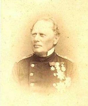 Battle of Jasmund (1864) - Rear Admiral Carl Edvard van Dockum, the Danish commander