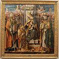 Carlo crivelli, madonna in trono col bambino che consegna le chiavi a pietro, 01.JPG