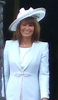 Carole Elizabeth Middleton on the balcony of Buckingham Palace.jpg