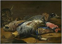 Carstian Luyckx - Cat and dead fowl.jpg