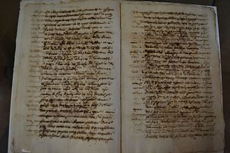 Puçol - Municipal charter of Puçol (1317)