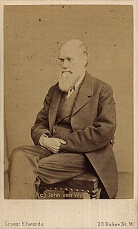Carte de visite photography of Charles Darwin by Ernest Edwards, 1867.jpg