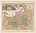 Cartografie in Nederland, kaart van Pruisen, NG-501-44.jpg