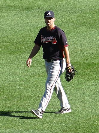 Buddy Carlyle - Carlyle with the Braves in 2016