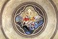 Casale monferrato, santo stefano, interno, affreschi di luigi morgari 04 trinità.jpg