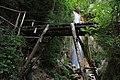 Cascata naturale di 30 metri -Senerchia Oasi naturale Valle della Caccia -Avellino 33.jpg