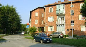 Low-rise building - Low-rise public housing in Turin, Italy