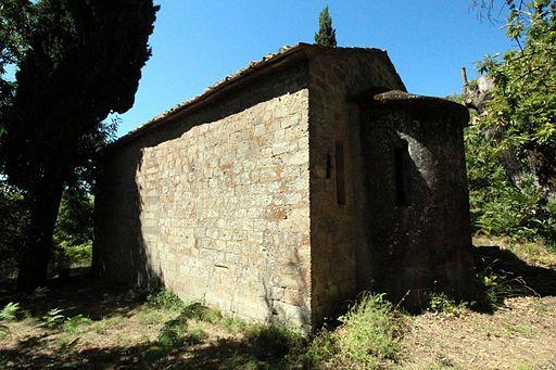 CastelDelPiano, Apse of the Church San Biagio a Gravilona (12th century), Castel del Piano