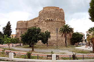 Spain in the Middle Ages - Aragonese Castle in Reggio Calabria, Italy