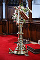 Castle Hedingham, St Nicholas' Church, Essex England, eagle lectern 2.jpg