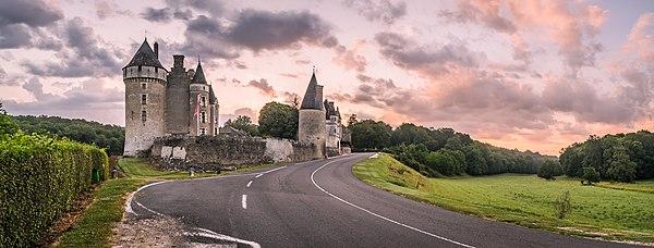 Castle of Montpoupon in commune of Céré-la-Ronde, Indre-et-Loire, France