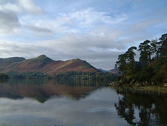 Cat Bells - The classic view of Cat Bells from near Friars Crag on the opposite side of Derwent Water