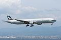 Cathay Pacific Airways, B777-300, B-HNF (17692778139).jpg