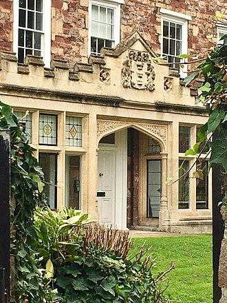 Bristol Cathedral Choir School - School entrance