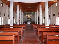 Catholic Church of Wanchin (internal)