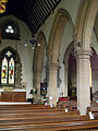 Caythorpe St Vincent - North arcade from north aisle.jpg