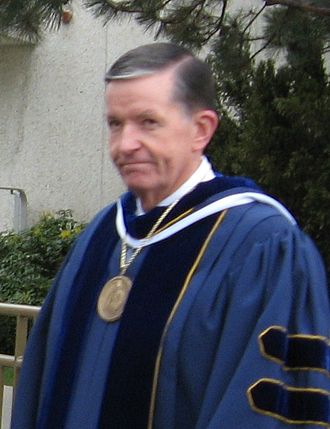 Cecil O. Samuelson - Samuelson leading the April 2008 commencement exercises at BYU