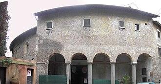 Santo Stefano al Monte Celio - Santo Stefano Rotondo is the oldest example of a centrally planned church in Rome.