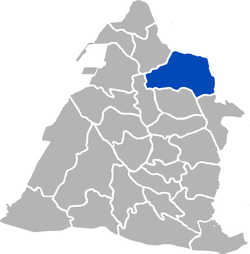 Location of چانگوا