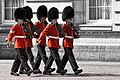 Changing the guard - Buckingham Palace (4745275233).jpg