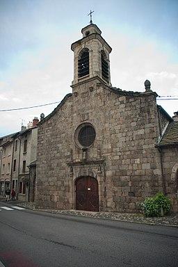 Chapelle des pénitents (facade) - Yssingeaux