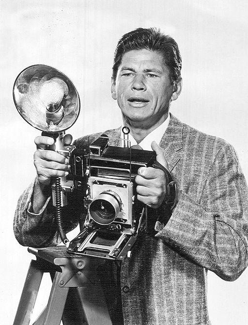 Charles Bronson Man With a Camera 1959