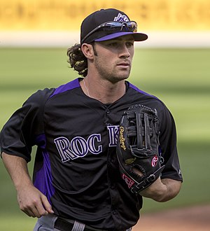 Charlie Culberson - Culberson with the Colorado Rockies in 2013
