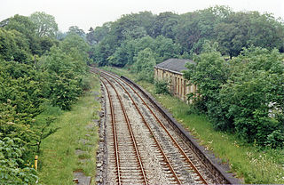 Chatburn railway station Disused railway station in Lancashire, England