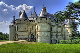 Château de Chaumont castle in France