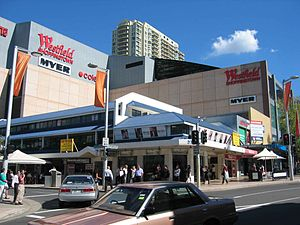 Westfield Chatswood - Image: Chatswood, New South Wales Shops