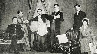 <i>The Bald Soprano</i> absurdist play by Eugène Ionesco