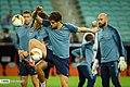 Chelsea players training before 2019 UEFA Europa League final 05.jpg