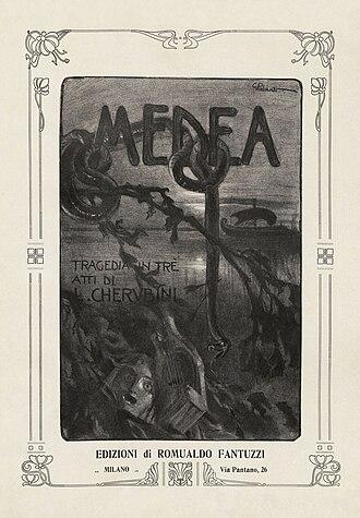 Médée (Cherubini) - Title page to a vocal score of the 1909 hybrid version.