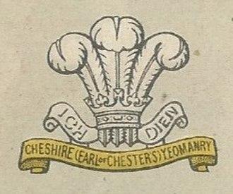 Cheshire Yeomanry - Image: Cheshire Yeomanry badge