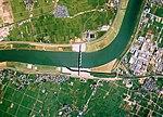Chikugo Ozeki Weir Aerial photograph.1987.jpg