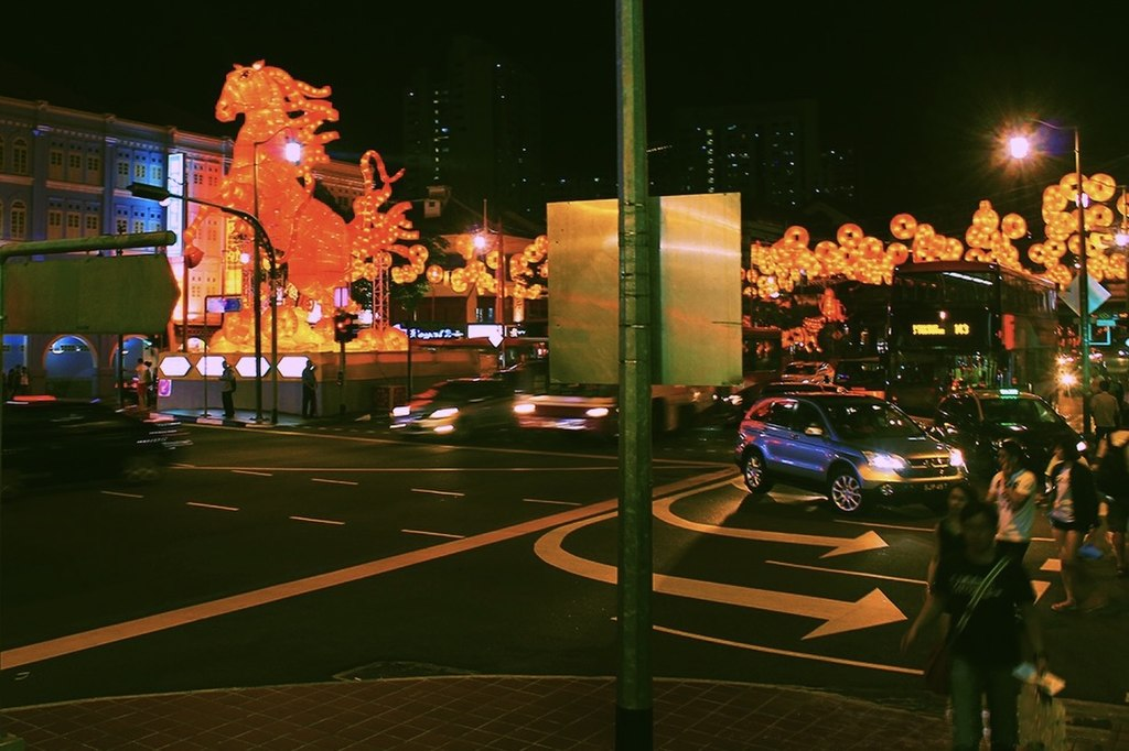 File:Chinese New Year decorations along New Bridge Road ...