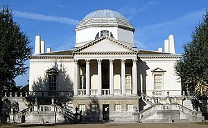 Chiswick House - Chiswick House view from forecourt