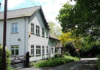 Chorley, Alderley - Image: Chorley, Alderley Oswald Cottage