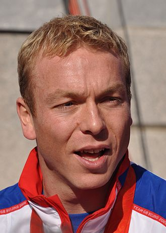 Great Britain at the Olympics - Image: Chris Hoy, October 2008