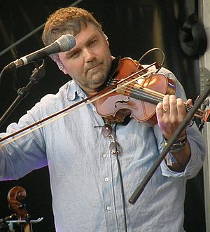 Chris Wood (folk musician) - Wood with The Imagined Village at Camp Bestival; 20 July 2008