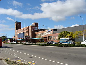 Christchurch Railway Station (New Zealand) - Christchurch railway station building (Moorhouse Avenue)