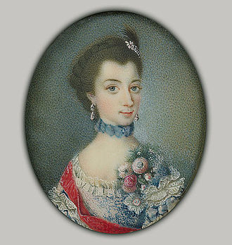 Duchess Christiane of Mecklenburg - Image: Christiane zu Mecklenburg by anonymous (c.1755, Royal coll.)