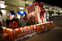 Louisiana Boardwalk Outlets Christmas Parade