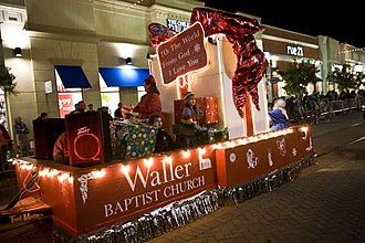 Holiday Trail of Lights - Each year the public is invited to a Christmas parade to celebrate the holidays at the Louisiana Boardwalk Outlets in Bossier City, LA.