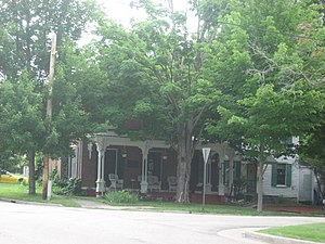 National Register of Historic Places listings in Lee County, Illinois - Image: Christopher Brookner House